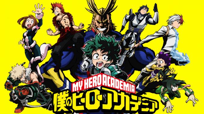 Le manga My Hero Academia : un shonen populaire